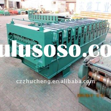 1080 Colored steel clay roof tiles making machines