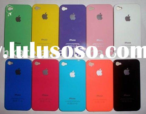 10 X color best hard case for New Apple iPhone 4 4G 4th A1 HC002