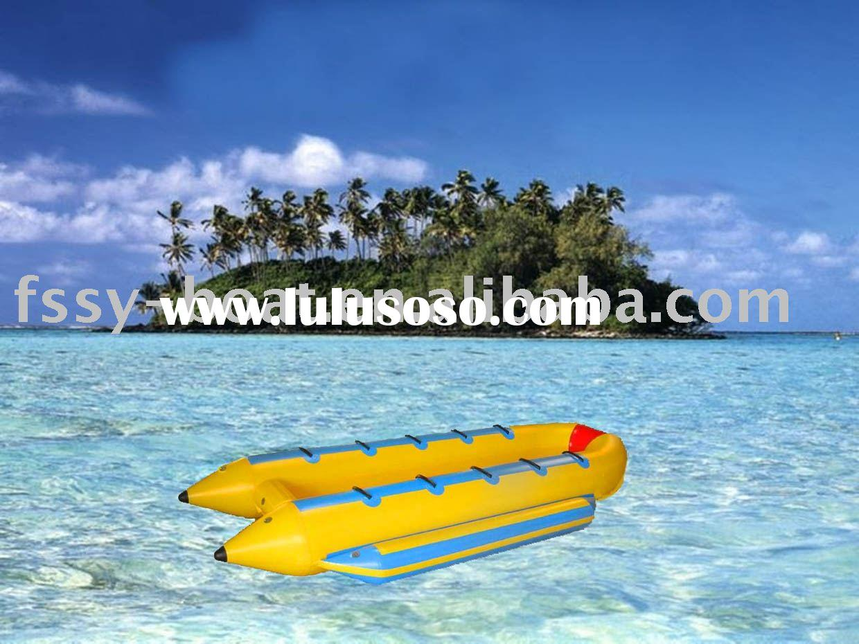 10 seats Banana Boat of U shape,10 people Banana Boat