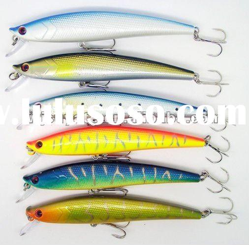 11CM-11.8G-6#hook fishing lure baits Minnow High Quality and Best wholesale Price