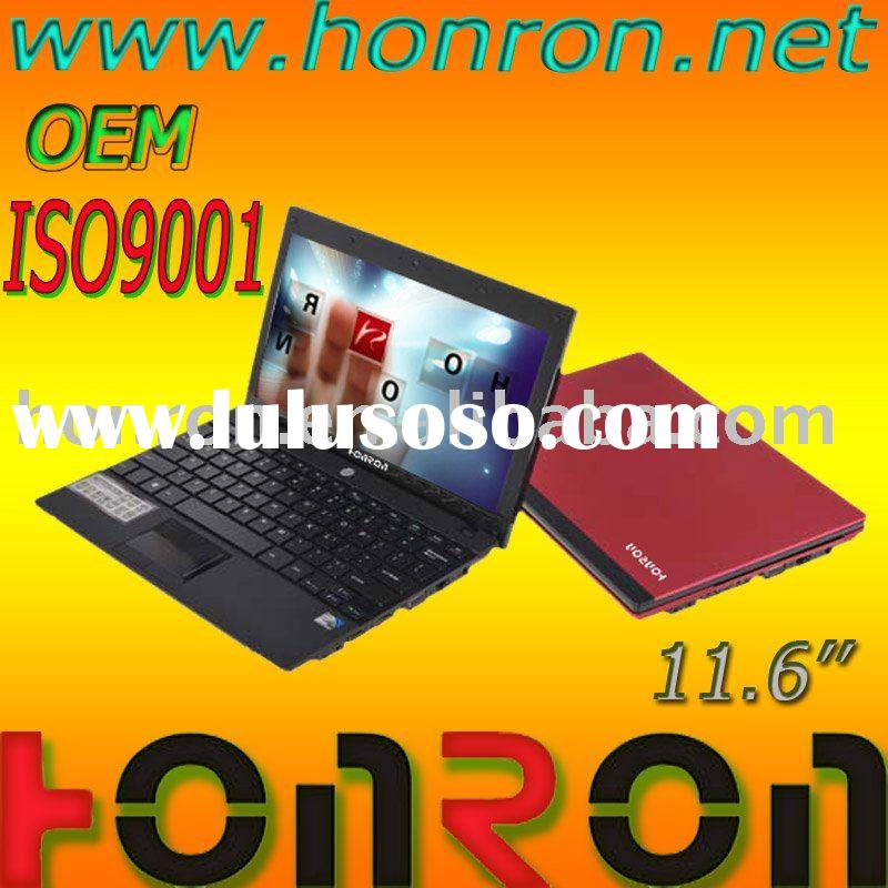 "11.6""inch OEM UMPC Mini laptop computer notebook netbook with 3G"