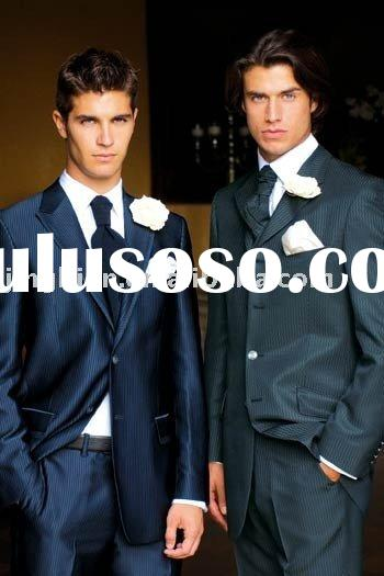 2011 Men complete designer wedding suit Bridegroom Groomwear Tuxedo tail
