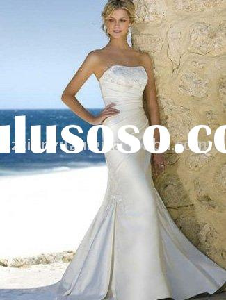 2010 year new beach wedding dresses