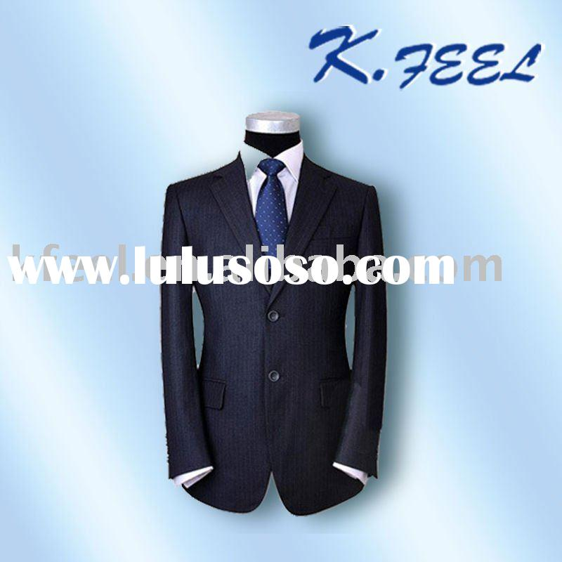 2011 Fashion Design Men's Wool Formal suit