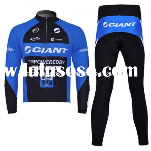 Giant New Men Long Sleeve Cycling Clothing