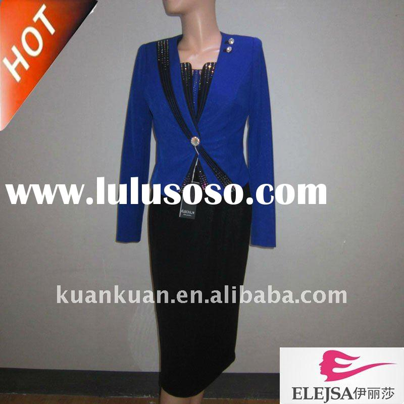 2011 beautiful L1307 women dress church suits