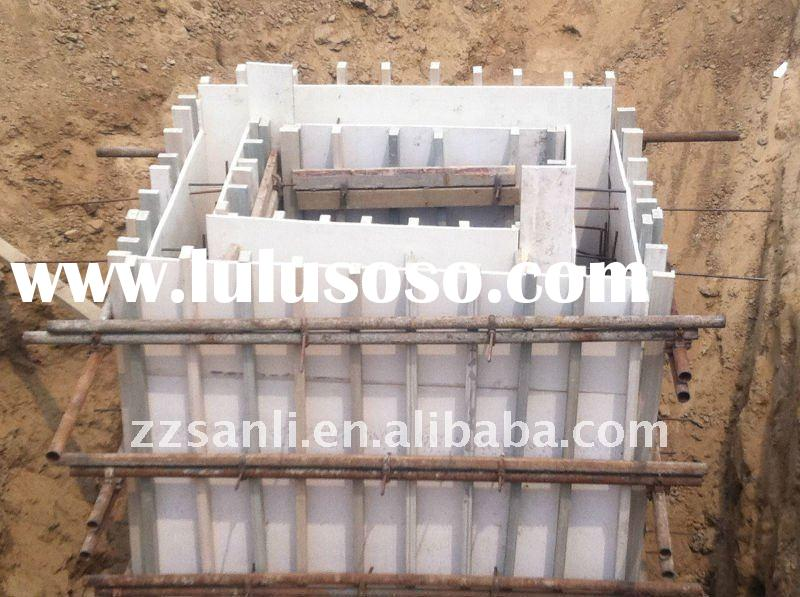 2011 highly recycled plastic building formwork panel