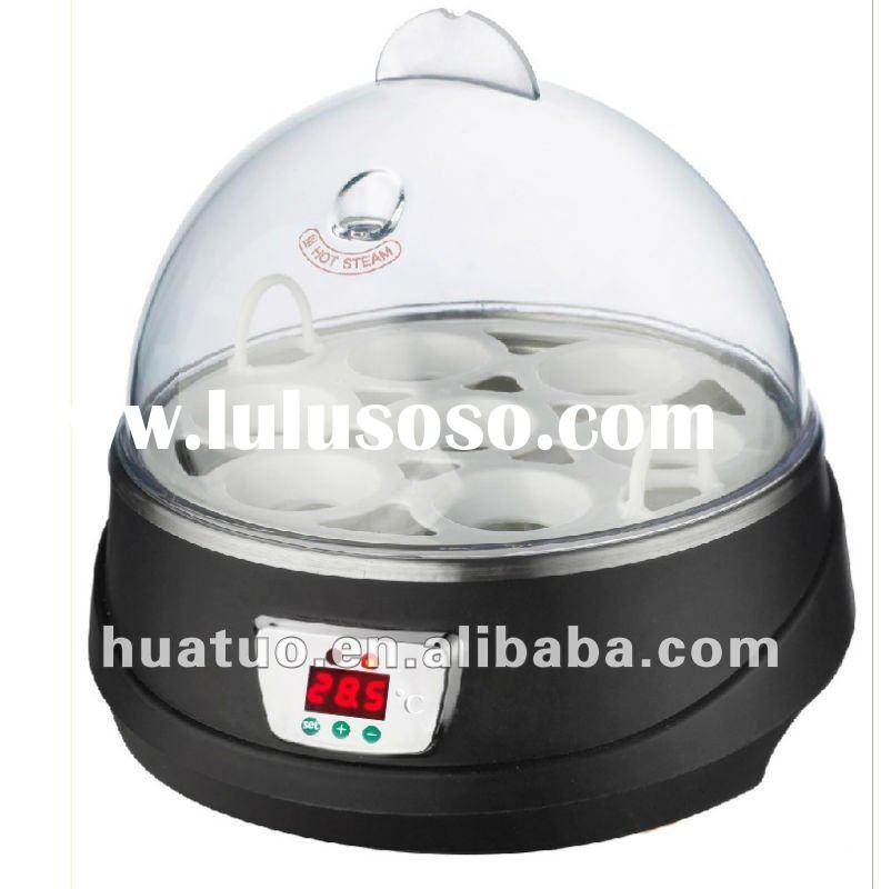 2012 New design family type and favorable price egg incubator ,mini chicken incubator YZ7-7(CE appro