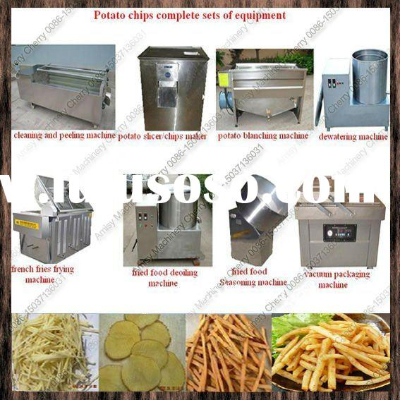 2012 best price potato chips processing machine/potato chip process line/86-15037136031