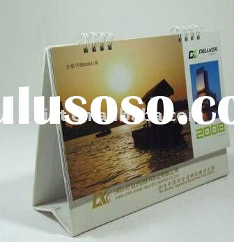 2012 desk calendar printing with good quality