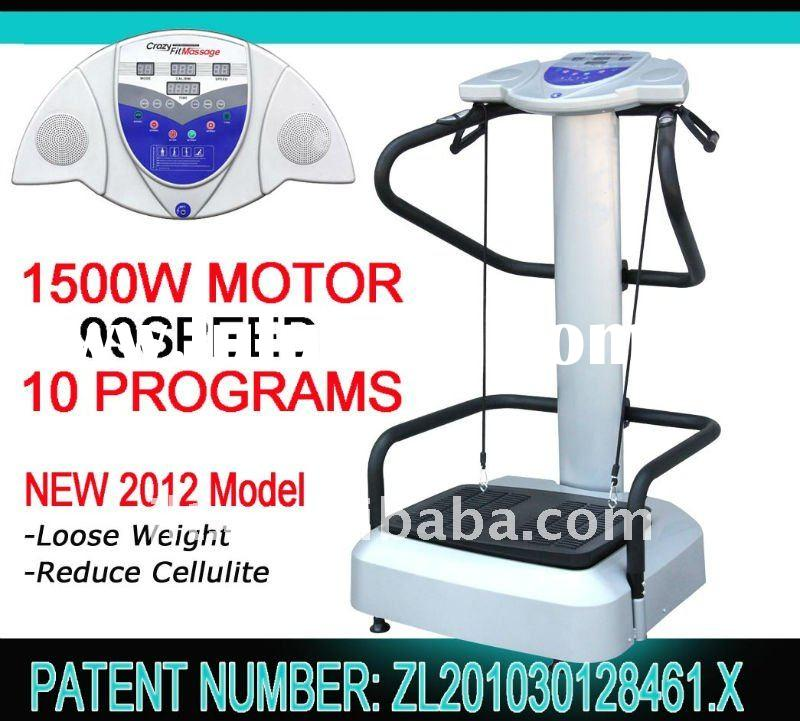 2012 new vibration plate crazy fit massage oscillation machine