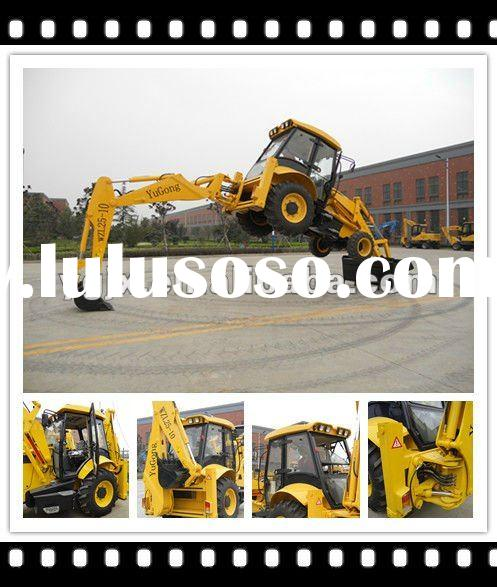 2012 the newest type mini backhoe loader WZ30-25 with 0.3/1 m3 bucket capcaity, attachment 4 in 1 bu