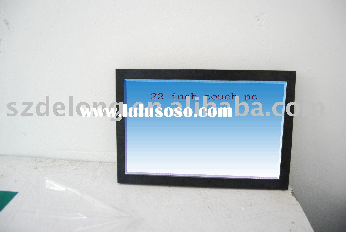 "22"" Flat Panel Industrial Touch Computer,touch panel computer, all in one pc"