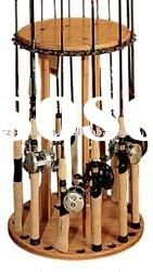 24-rod fishing rod rack