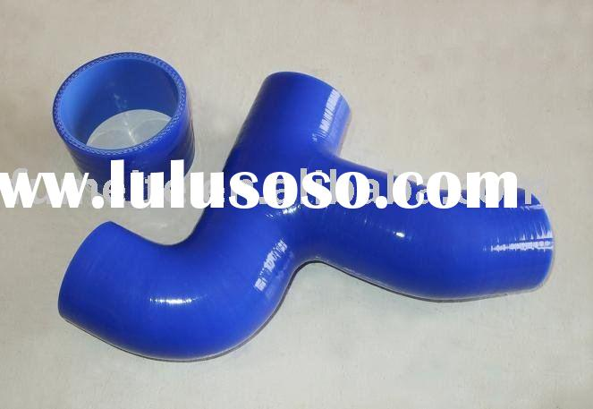 2 PCS FOR SUBARU IMPREZA GC8 TURBO BLUE HOSE KIT Y-Pipe, AUTO PARTS, radiator silicone hose kit PIPE