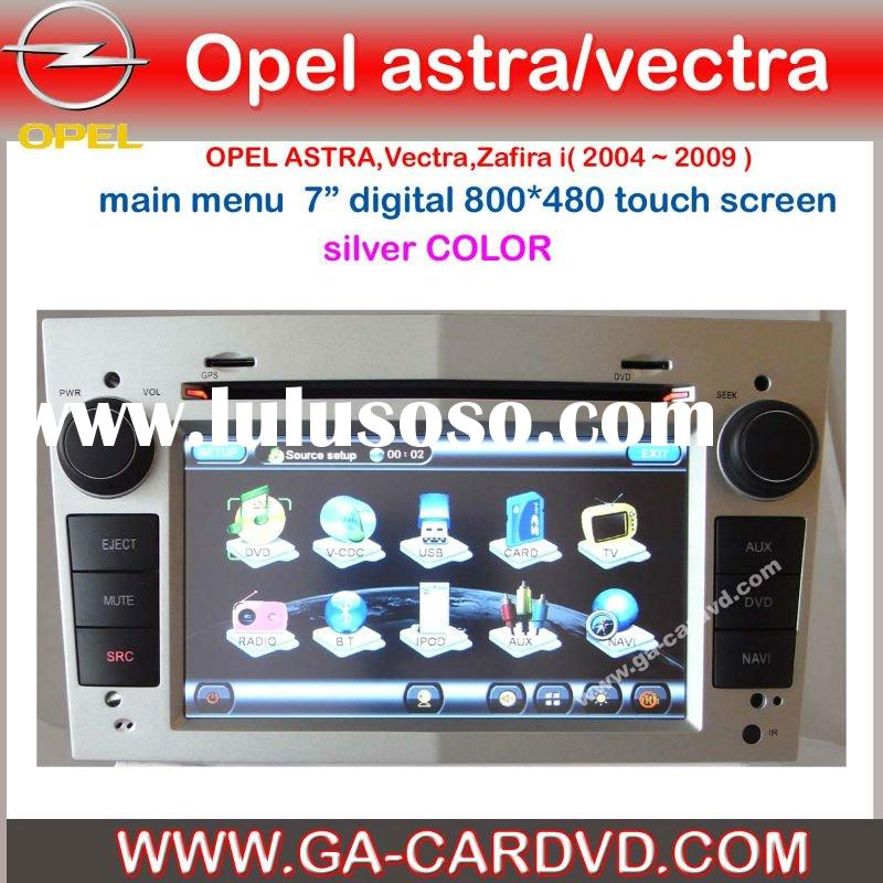 2 din car dvd for OPEL Astra with bluetooth\GPS\IPOD\RDS