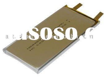 3.7V lithium ion polymer battery