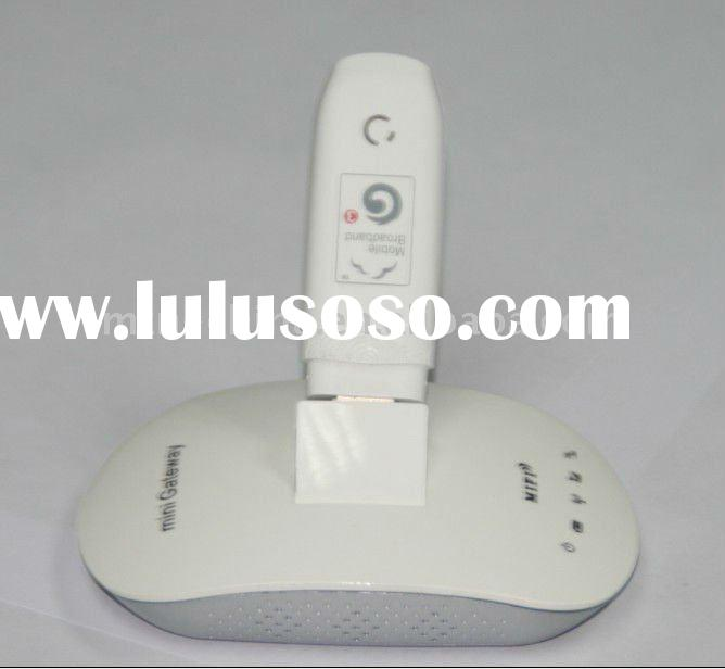 3g router support Huawei and ZET 3G modem