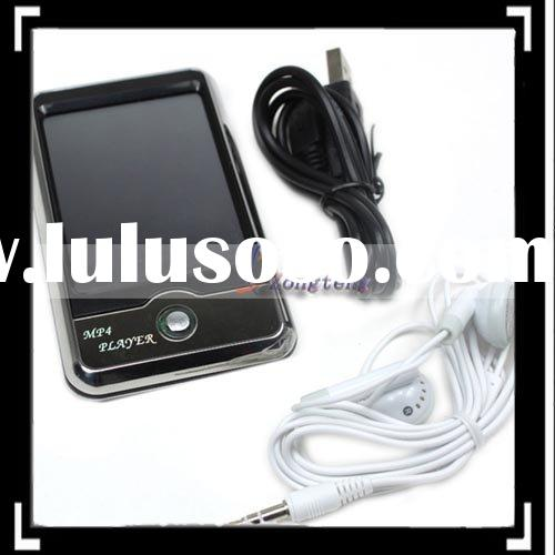 "4GB 2.8"" TFT-LCD Touch Screen MP3 MP4 Player FM Digital Camera Silver"
