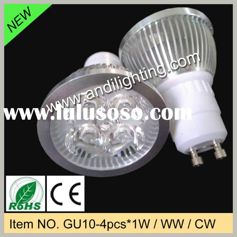 4*1w MR16 GU10 E27 LED room light