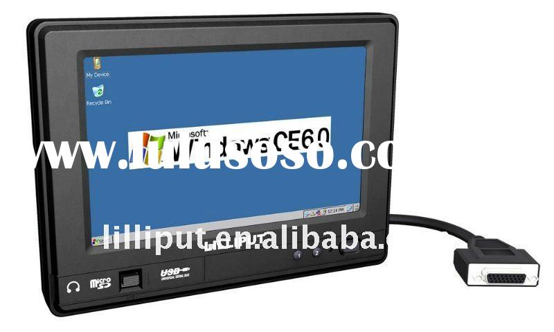 "7"" LCD Touch screen Information Terminal Comply with IP64 Standard"