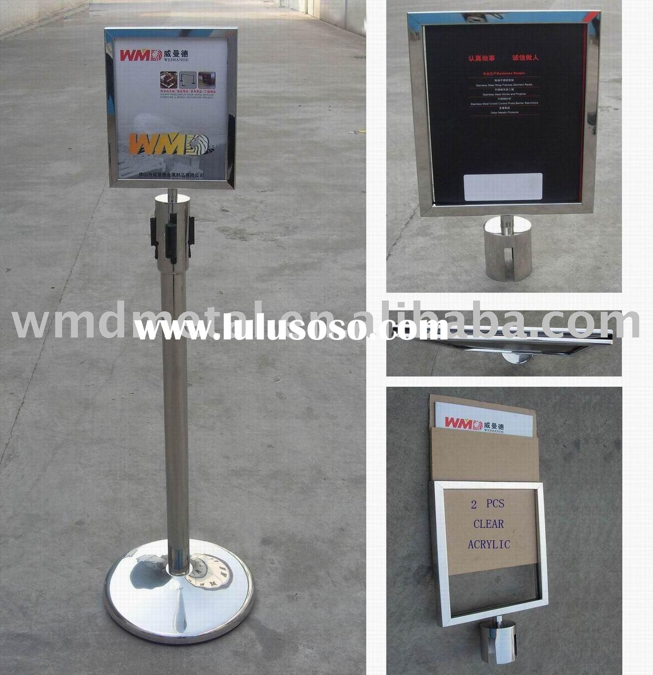 A4-P signage frame, message board, poster holder,retractable belt stand,extenda barrier,retracta pos