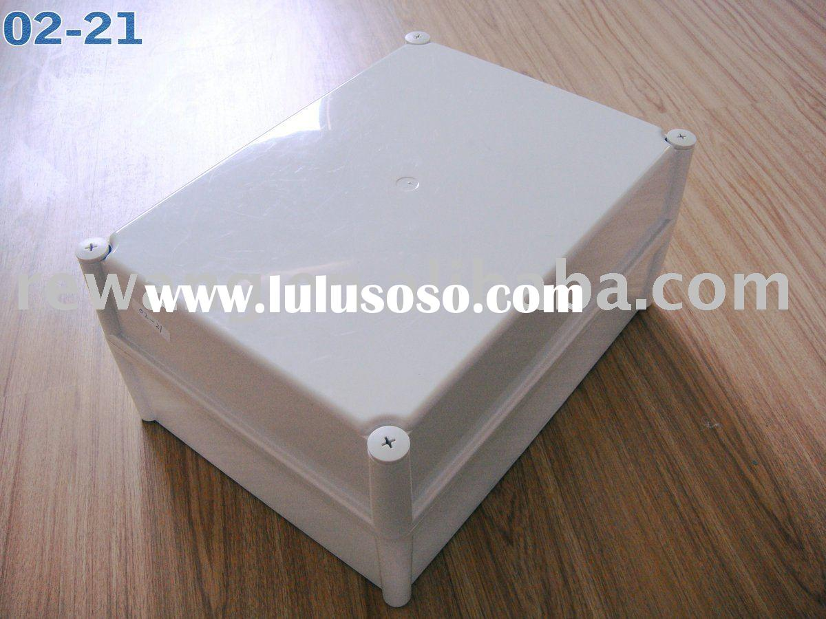 ABS plastic waterproof enclosure ,380*280*180mm,ABS ,Light Grey