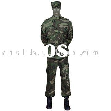 ACU 2 T/C Woodland jungle Military Fashionable Comfortable Camouflage ACU Army Uniforms