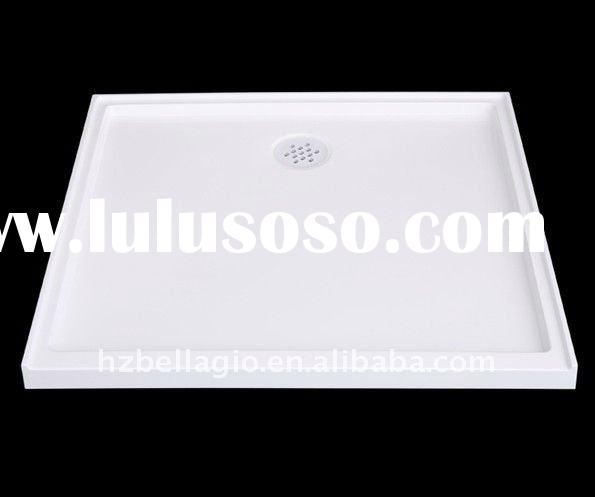 AFT-9090-01 Modern Design Artificial Stone Floor Shower Base Tray