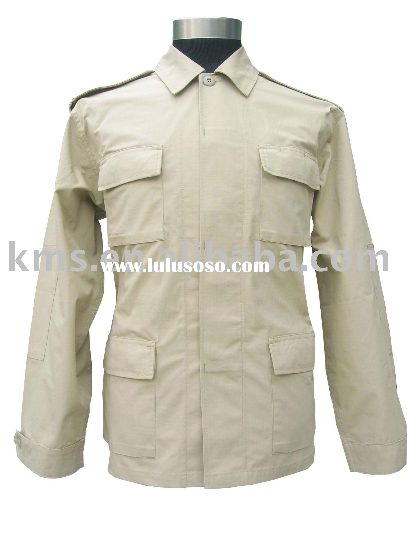 ARMY COMBAT UNIFORM DESIGN AND MAKE