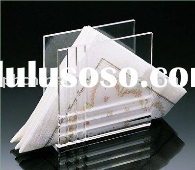 Acrylic Napkin Holder,Plexiglas Napkin Display