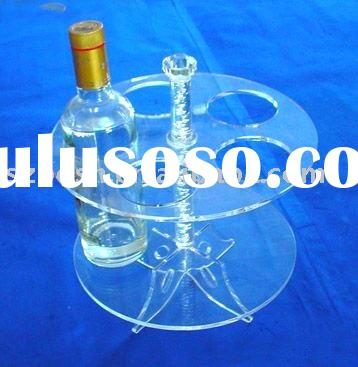 Acrylic Wine Holder,Perspex Wine Display,Lucite Drink Dispenser