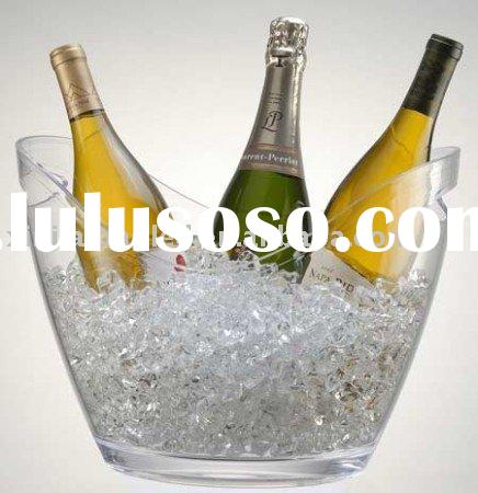 Acrylic ice bucket,cleaning ice bucket,champagne bucket,acrylic hotel product