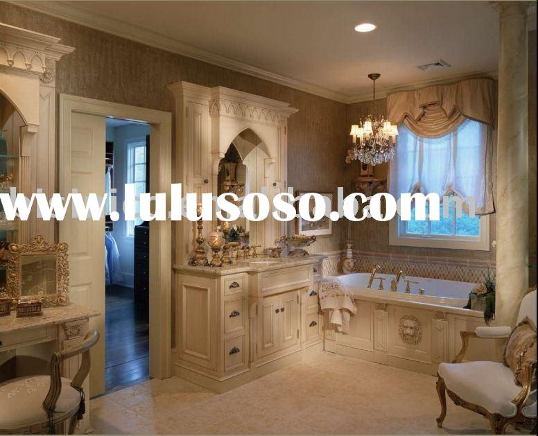 American style bathroom cabinet,bathroom furniture,solid wood bathroom sets,Home furniture