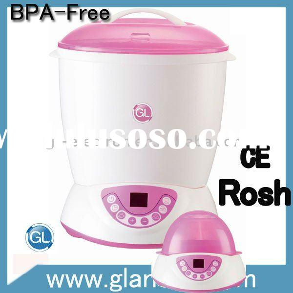 Baby bottle sterilizer for healthy feeding
