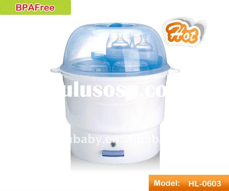 Baby feeding bottle steam sterilizer HL-0603