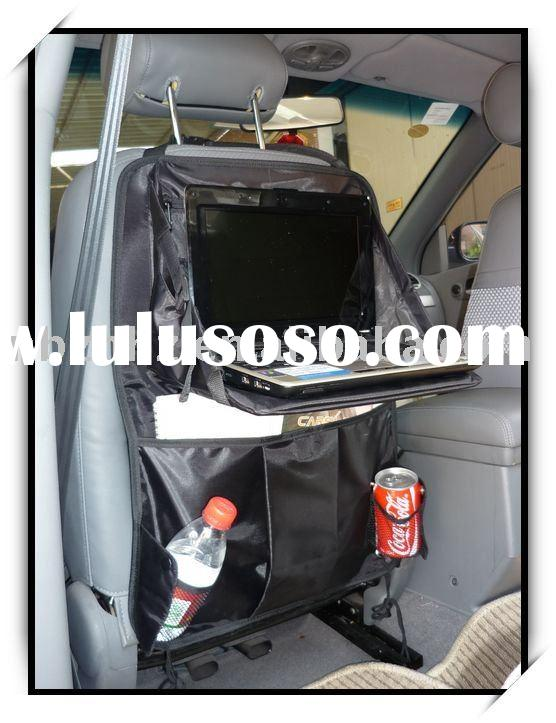 Back Seat Organizer with Laptop Tray Car Organizer