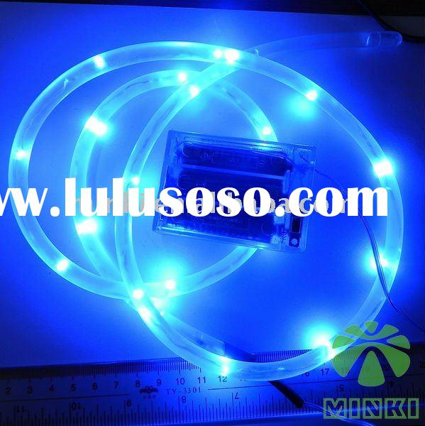 Beautiful blue battery operated 1m led string rope light