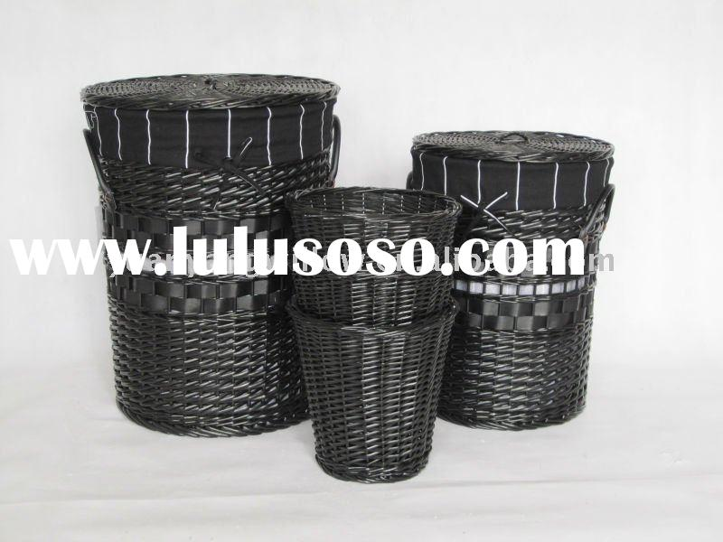Laundry Baskets On Wheels Commercial, Laundry Baskets On