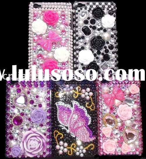 Bling Rhinestone Hard Case For ipod touch 4G Gen