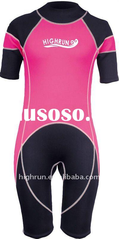 Children's&Adults Neoprene Shorty Surfing Suit, Diving Suit.Surfing Dry Suit,Wetsuit