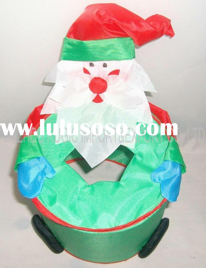 Christmas dinner sanitary napkin tissue paper box cover case, napkin holder, toilet paper box,storag