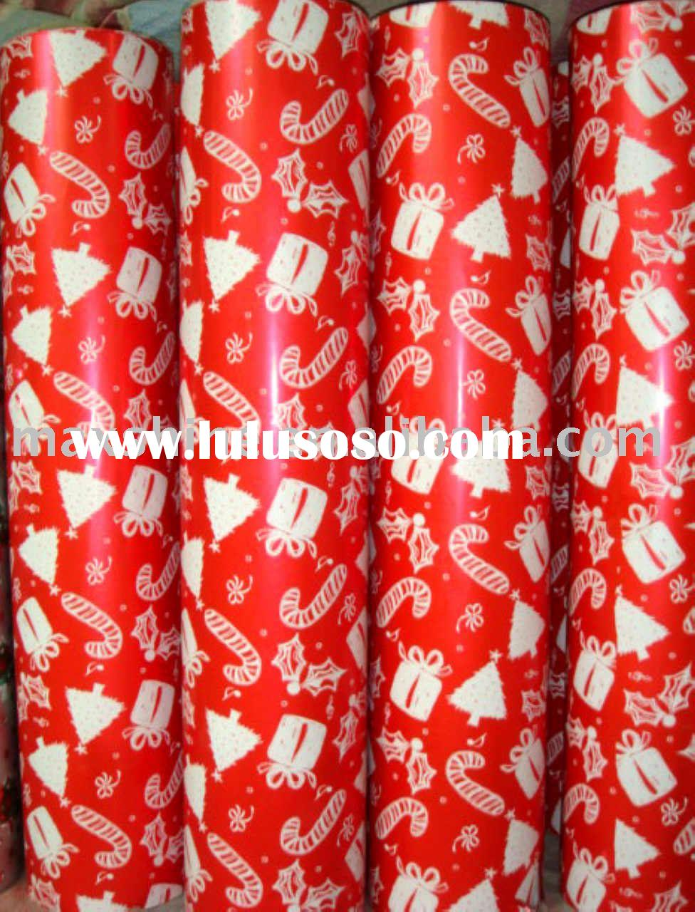 Christmas wrapping paper(Jumbo Roll)