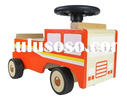 Wooden Ride On Firetruck Plans