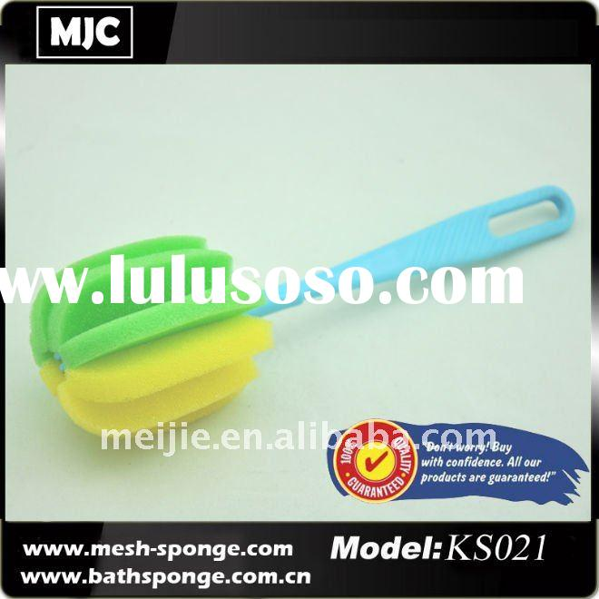 Colorful Bottle cleaning sponge