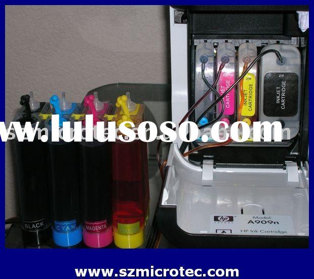 Continuous Ink Supply System for HP Officejet Pro 8000/ 8500 without Chip