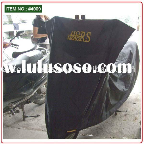 Custom motorcycle cover auto accessories black