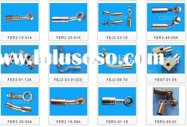 DOT hydraulic hose fitting