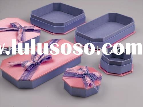 Delicate jewelry boxes for jewelry packaging