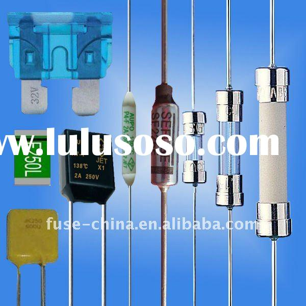 Different types of fuses(thermal fuse,glass fuse, ceramic fuse,auto fuse)